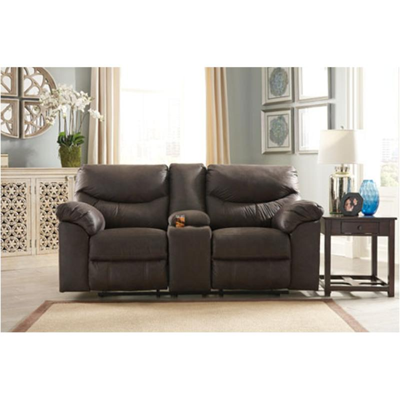 Wondrous 3380394 Ashley Furniture Boxberg Teak Double Recliner Loveseat With Console Pdpeps Interior Chair Design Pdpepsorg