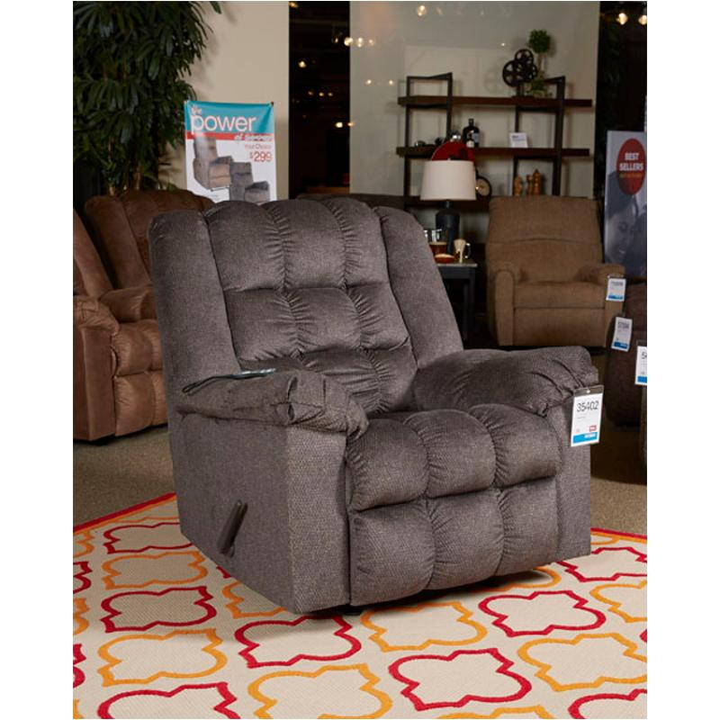 3540225 Ashley Furniture Drakestone Charcoal Rocker Recliner