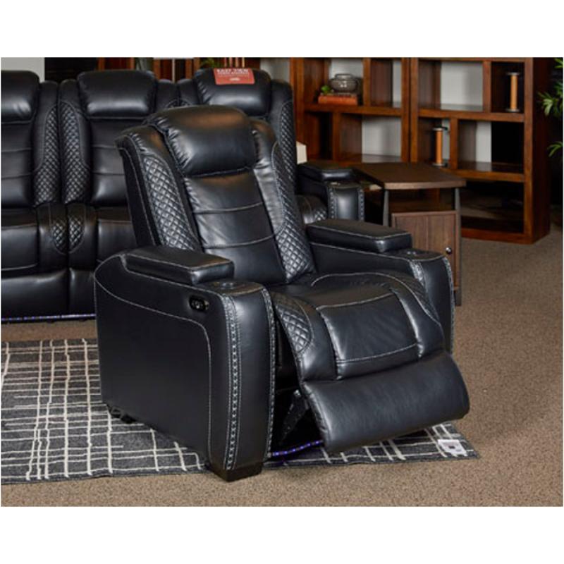 Miraculous 3700313 Ashley Furniture Party Time Power Recliner Adjustable Headrest Creativecarmelina Interior Chair Design Creativecarmelinacom