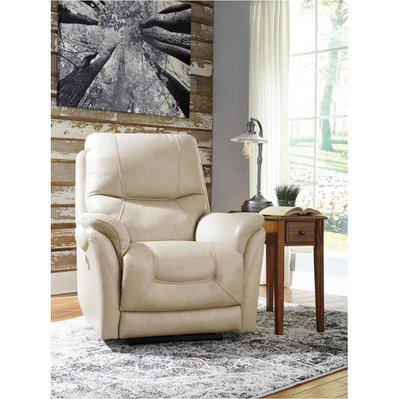 5650513 Ashley Furniture Stolpen Cream Living Room Recliner