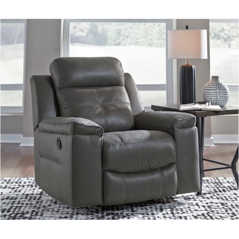 8670525 Ashley Furniture Jesolo - Dark Gray Rocker Recliner