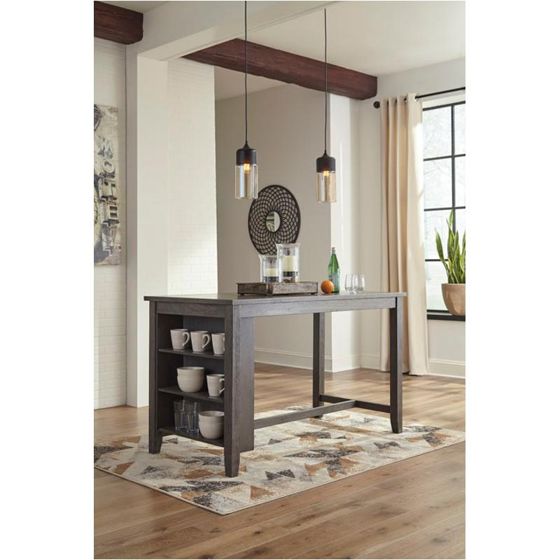 D388-13 Ashley Furniture Rectangular Counter Dining Table