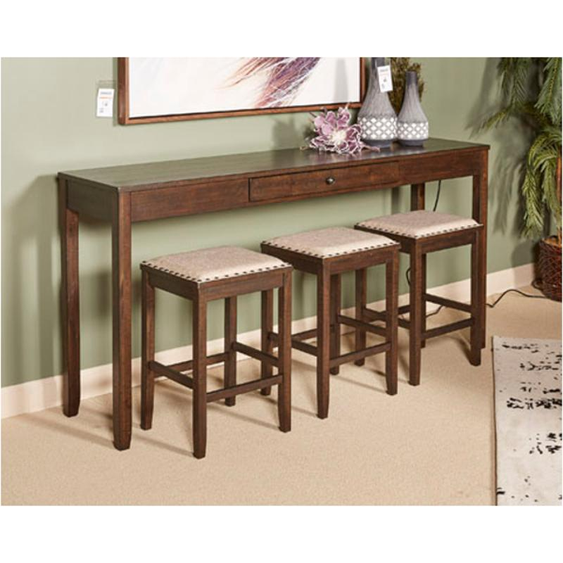 D397 223 Ashley Furniture Rokane Rectangular Counter Dining Table