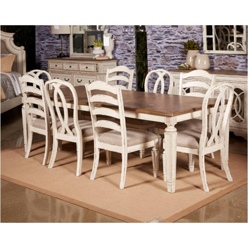 D743-45 Ashley Furniture Realyn Rect Dining Room Ext Table