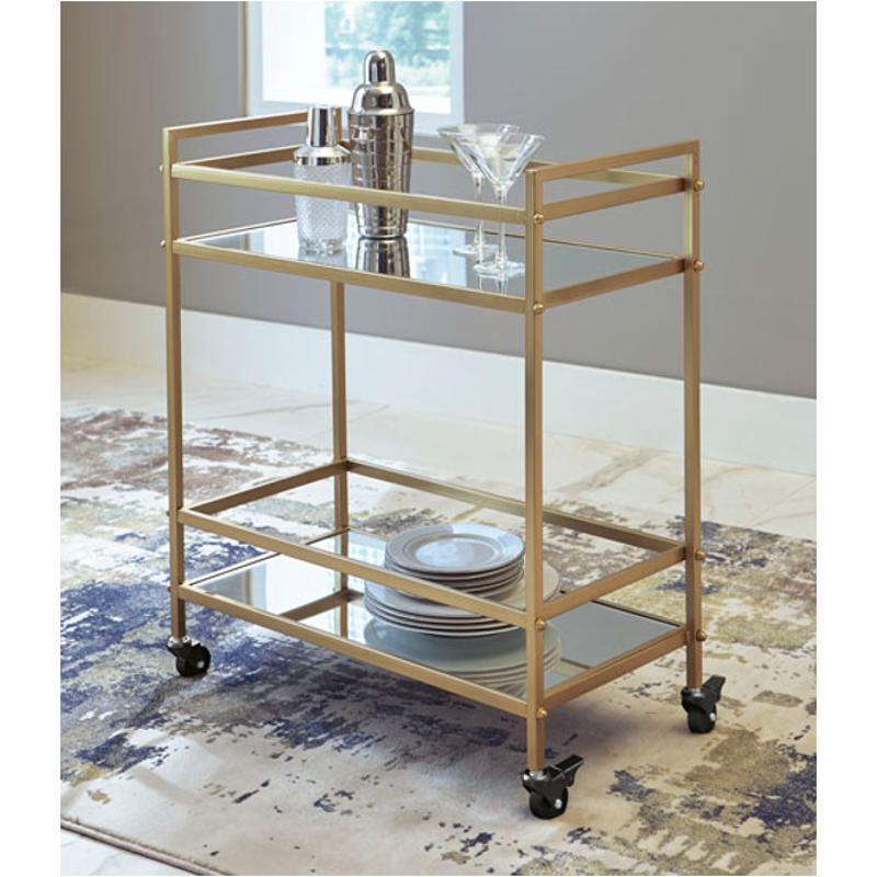 A4000095 Ashley Furniture Bar Cart Accent Table