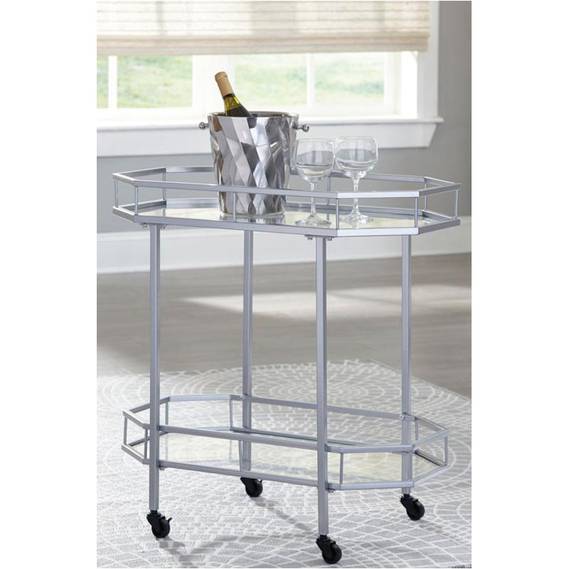 A4000120 Ashley Furniture Bar Cart Accent Table