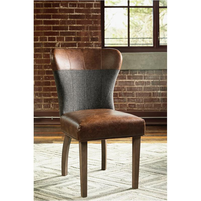 D670 04 Ashley Furniture Zenfield Charcoal Dining Room Chair