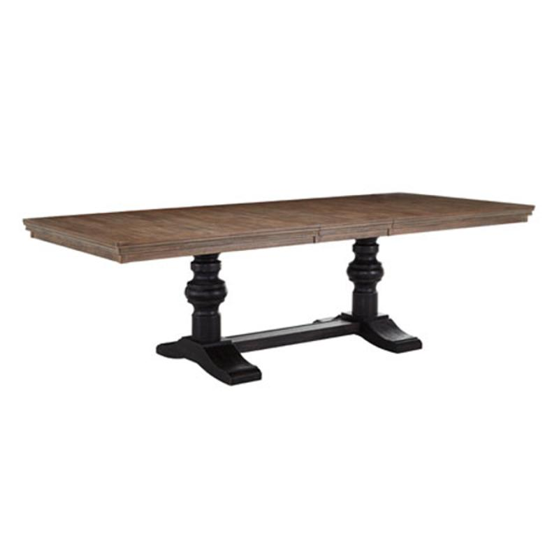 D688 55t Ashley Furniture Tanshire Rectangular Extension Table