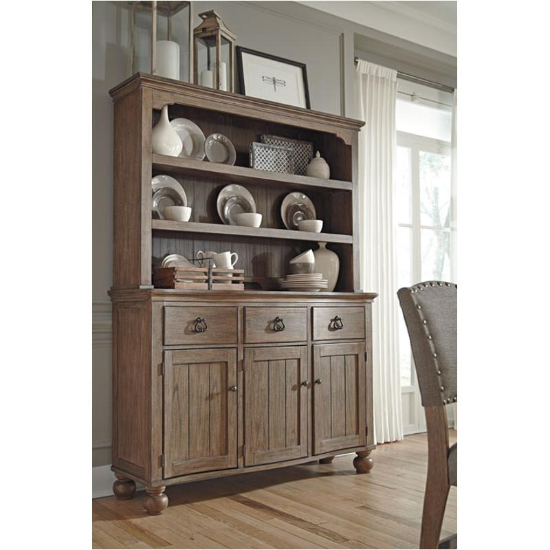 D688 61 Ashley Furniture Tanshire Dining Room China Hutch