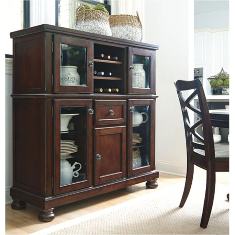 D697 76 Ashley Furniture Porter Rustic Brown Dining Room Server