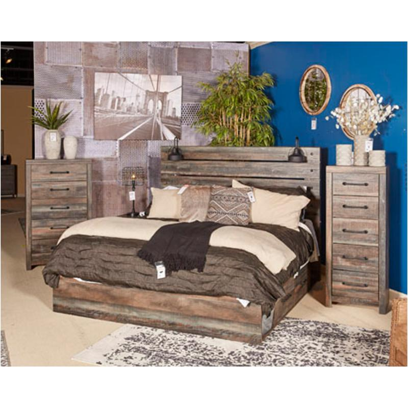 B600 557 Ashley Furniture Kasidon Multi Queen Upholstered Bed