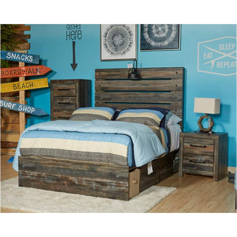 B211 87 St Ashley Furniture Drystan Kids Room Full Panel Bed St