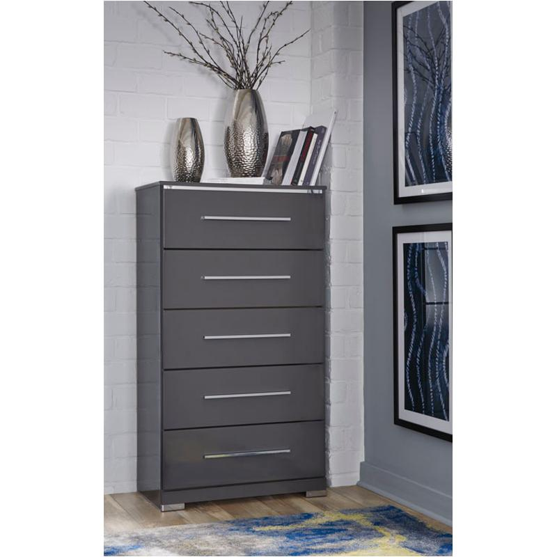 B408 46 Ashley Furniture Steelson Bedroom Chest