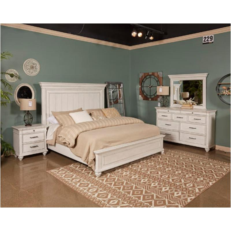 B777 57 Ashley Furniture Kanwyn Bedroom Queen Panel Bed