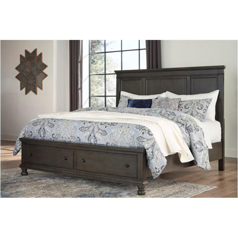 B624 57 Ashley Furniture Devensted Queen Panel Bed