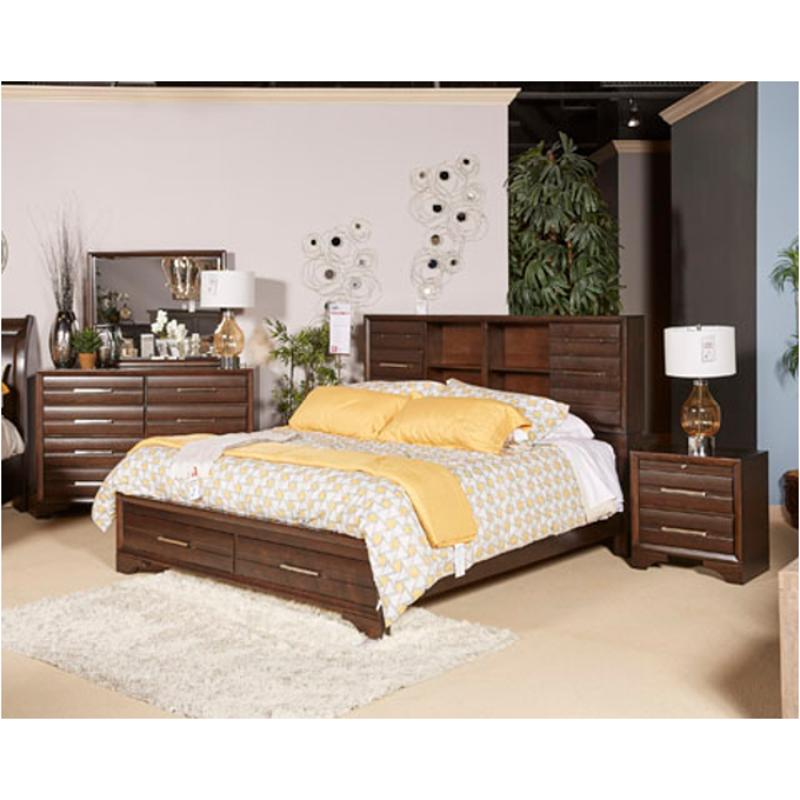 B609 82 Ashley Furniture Andriel King California King Storage Bed