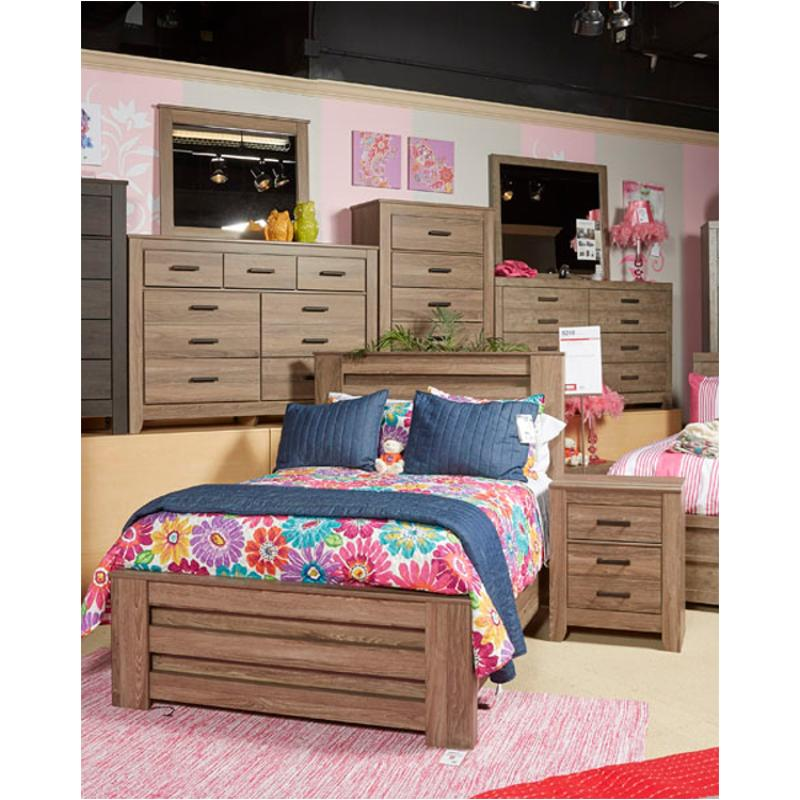 B248 87 Ashley Furniture Zelen Kids Room Full Panel Bed