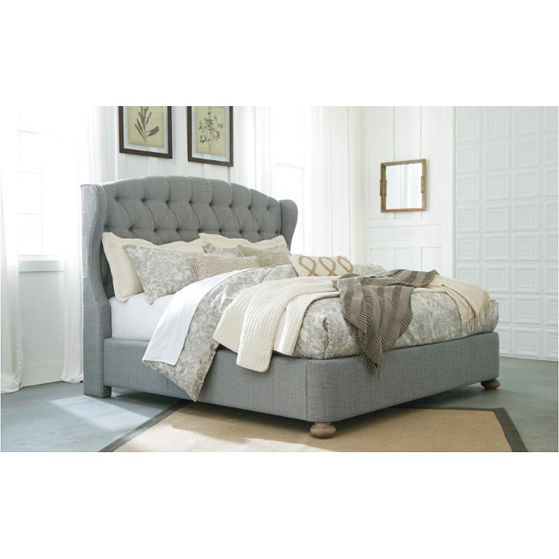 B725 77 Ashley Furniture Ollesburg Bedroom Queen Upholstered Bed