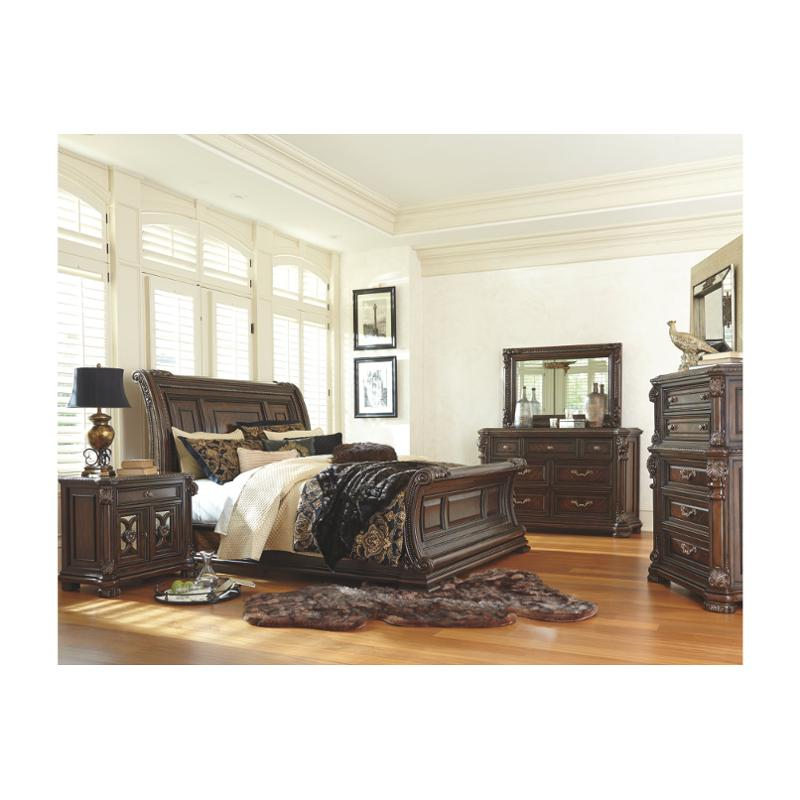 Groovy B780 77 Ashley Furniture Valraven Queen Sleigh Bed Gamerscity Chair Design For Home Gamerscityorg