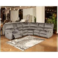 5720101 Ashley Furniture Urbino Charcoal Sectional