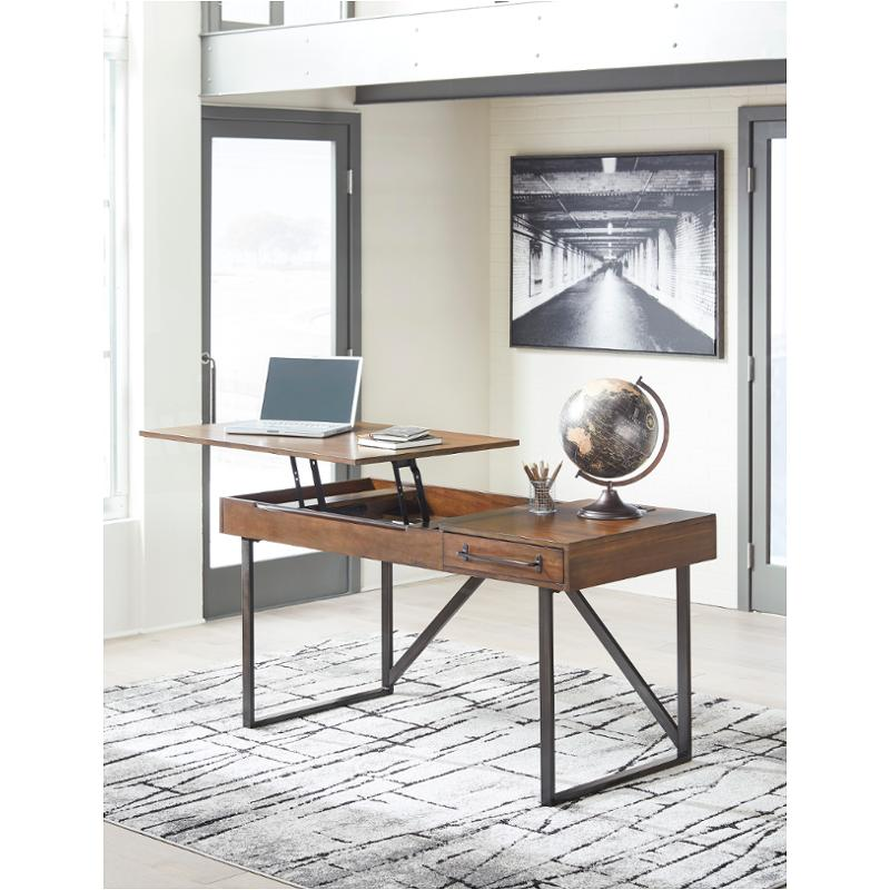 H633 134 Ashley Furniture Starmore Brown Home Office Desk