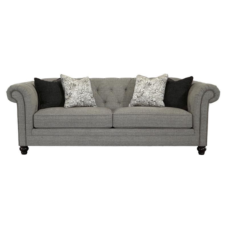 6300338 Ashley Furniture Ardenboro Charcoal Living Room Sofa