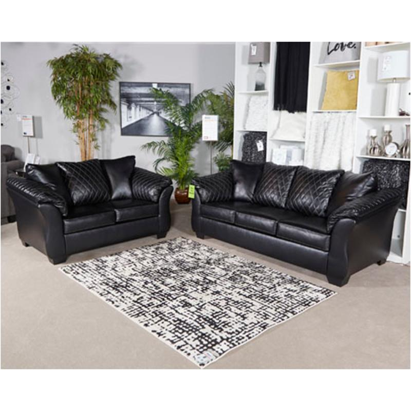 4050238 Ashley Furniture Betrillo - Black Sofa