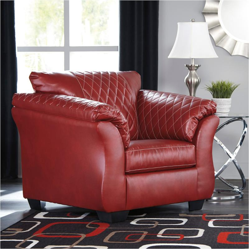 4050420 ashley furniture betrillo  salsa living room chair