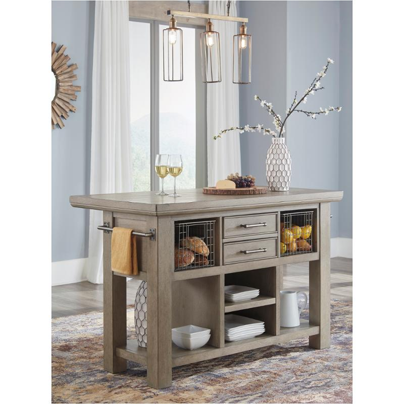 D732 86 Ashley Furniture Chapstone Dining Room Island