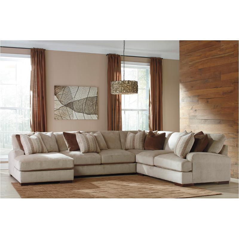 4570077 Ashley Furniture Arminio Fleece Living Room Sectional