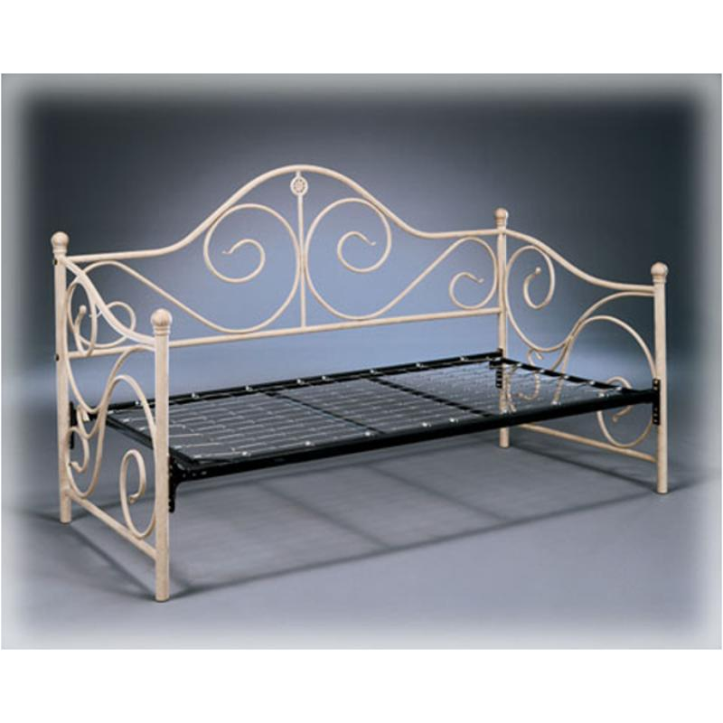 B100 81 Ashley Furniture Twin Metal Day Bed Foundation