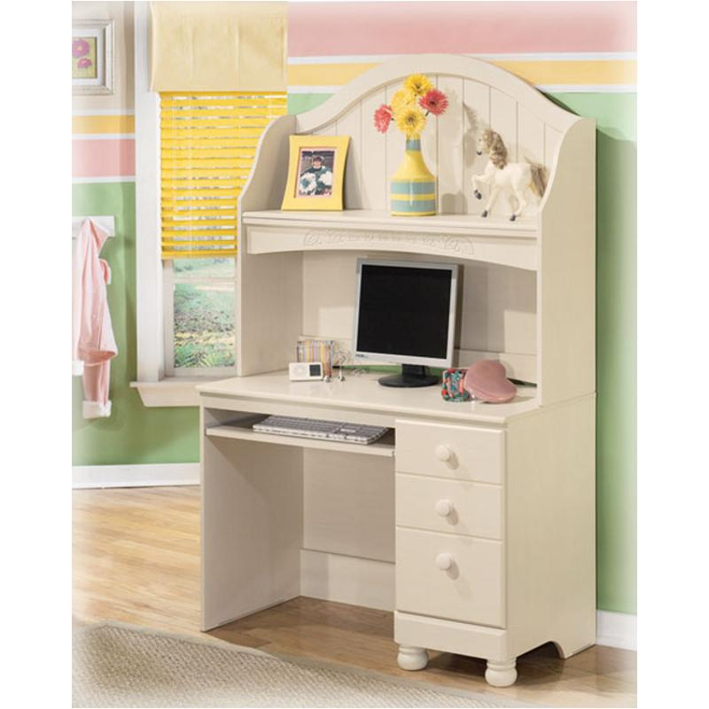 B213 23 ashley furniture cottage retreat bedroom desk hutch Cottage retreat collection bedroom furniture