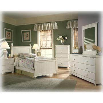 B213 52 Ashley Furniture Twin Poster Hdbd Cream Cottage
