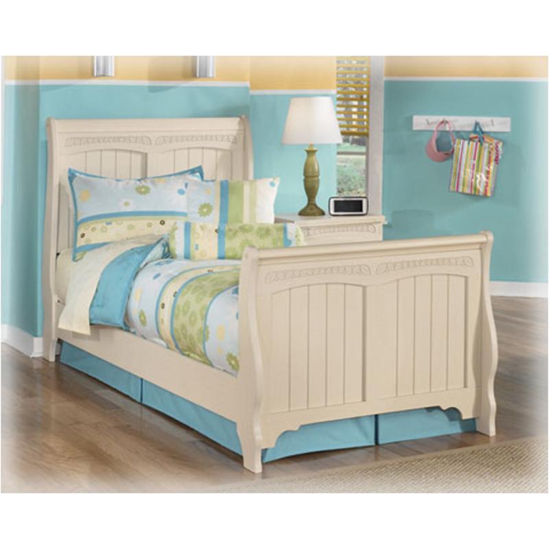 B213 62 Ashley Furniture Cottage Retreat Twin Sleigh Footboard