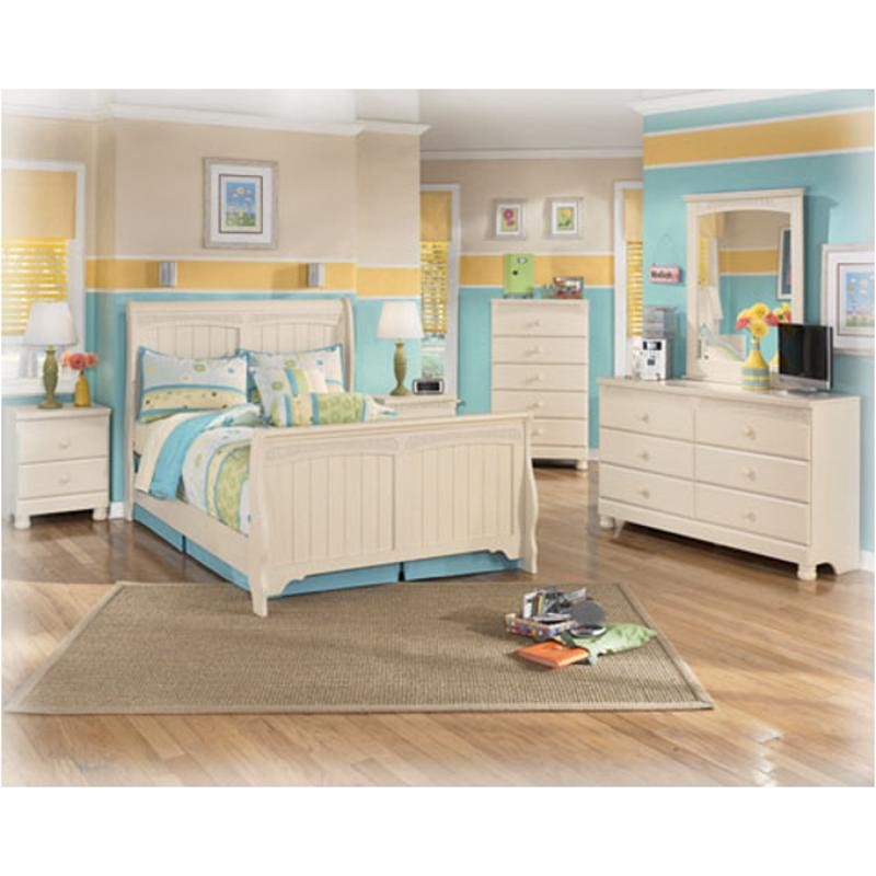 B213 92 ashley furniture cottage retreat two drawer night - Cottage retreat bedroom furniture ...