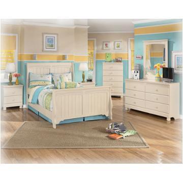 B213 92 Ashley Furniture Two Drawer Night Stand