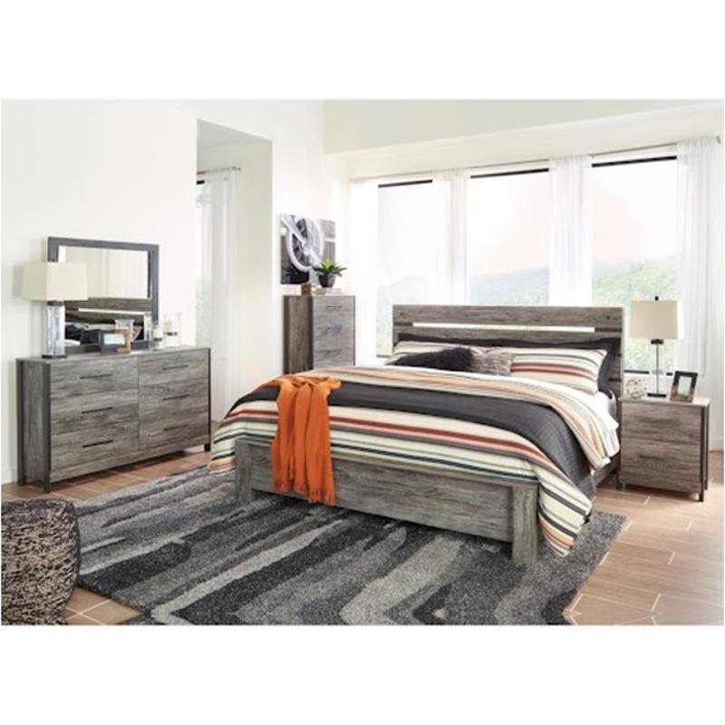 B227-57 Ashley Furniture Cazenfeld Bedroom Queen Panel Bed