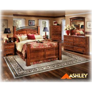 B258 98 Ashley Furniture Timberline Bedroom Queen Poster Rails