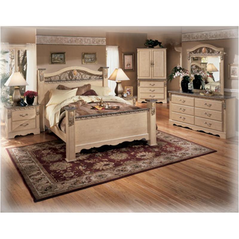 b290 92 ashley furniture sanibel bedroom nightstand night stand. Black Bedroom Furniture Sets. Home Design Ideas