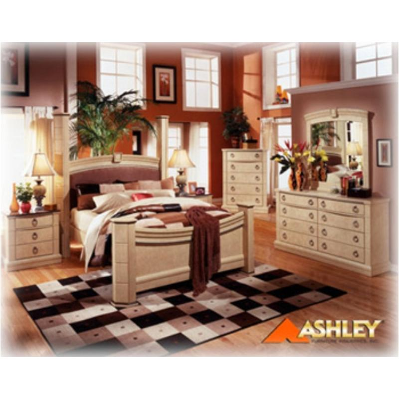 B310 93 Ashley Furniture Ashton Castle 3 Drawer Nightstand