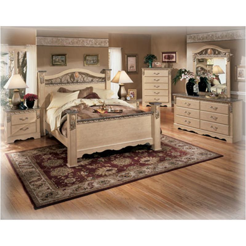 B290-78 Ashley Furniture Sanibel Bedroom King Poster Bed