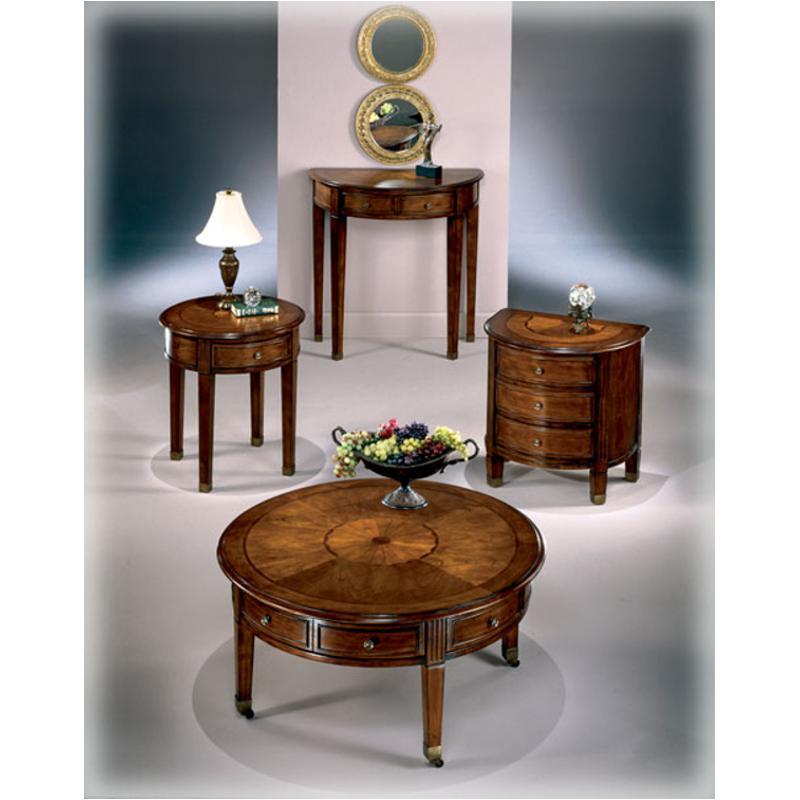T247-6 Ashley Furniture Glen Eagle Living Room Round End Table