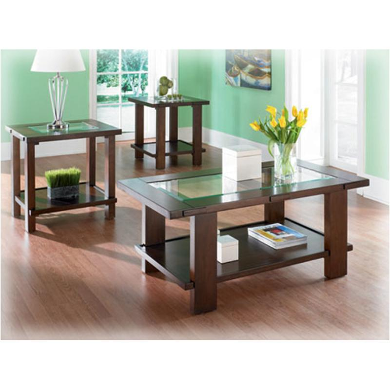 T686-13 Ashley Furniture Silver Lake Occasional Table Set