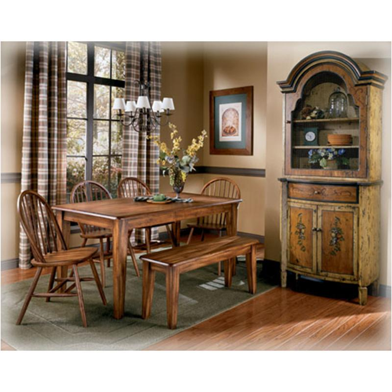 D199 25 ashley furniture rectangular dining room table for Ashley furniture dining room table