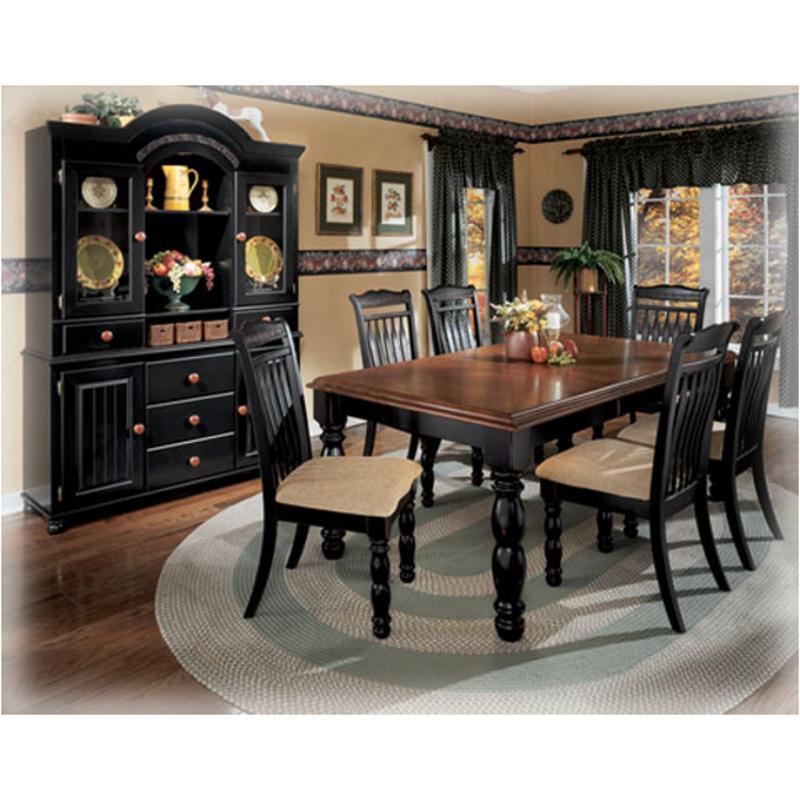 D212 35 Ashley Furniture Cedar Heights Dining Room Dinette Table
