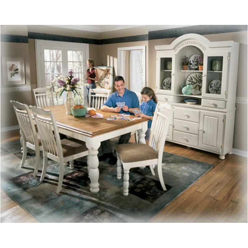 D213 35 ashley furniture rectangular extension table Cottage retreat collection bedroom furniture