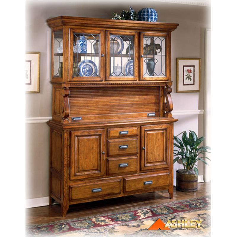 Furniture Com Coupons: D224-80 Ashley Furniture Drake Buffet Oak Stain Finish