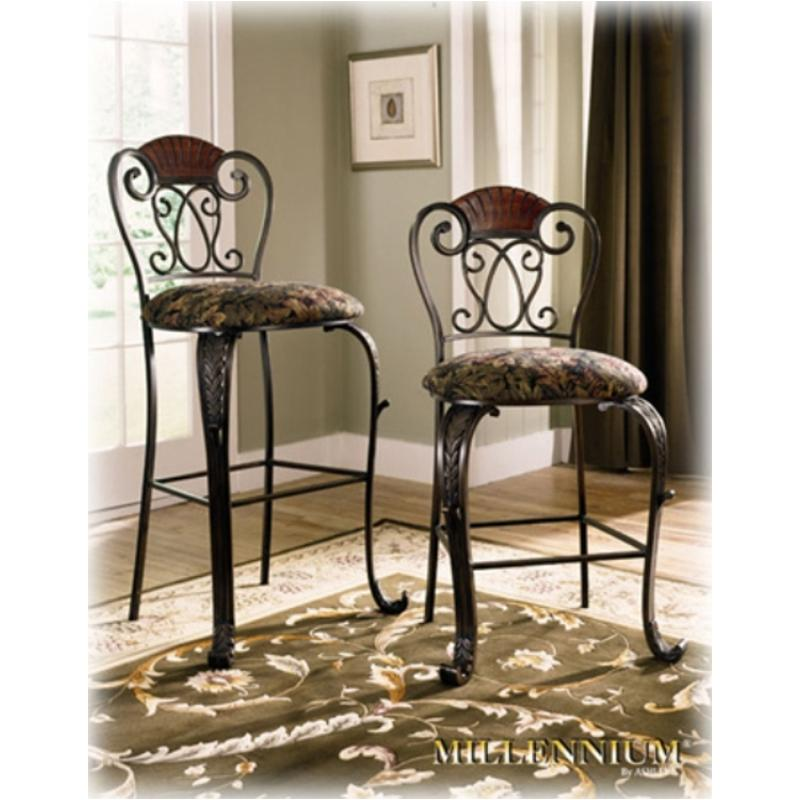 D445 124 ashley furniture 24in barstool rta brown finish for Furniture 124