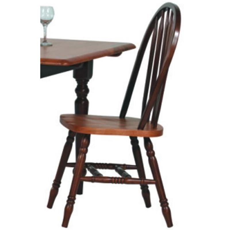 Enjoyable 519Sf Winners Only Furniture Farmhouse Fruitwood Arrow Back Side Chair Fruitwood Dailytribune Chair Design For Home Dailytribuneorg