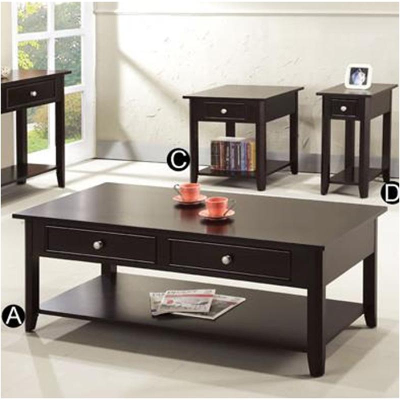 Am100c Winners Only Furniture Metro Living Room Cocktail Table